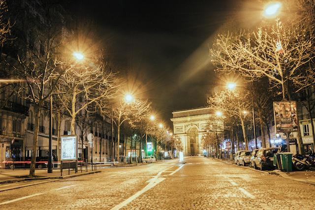 Desert in Paris
