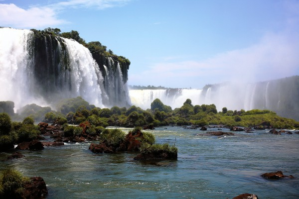 South America - Iguassu Falls